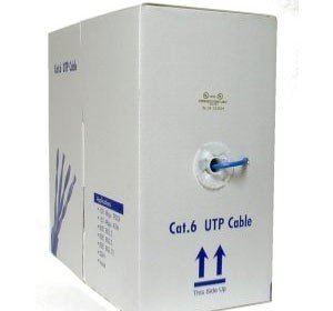 1000ft UTP Cable 23AWG, 550MHZ 4 twisted pair, unshielded, CAT6