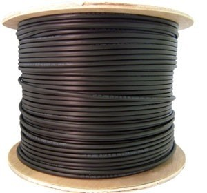 1000ft Outdoor UTP Cable 23AWG, 550MHZ 4 twisted pair, CAT6