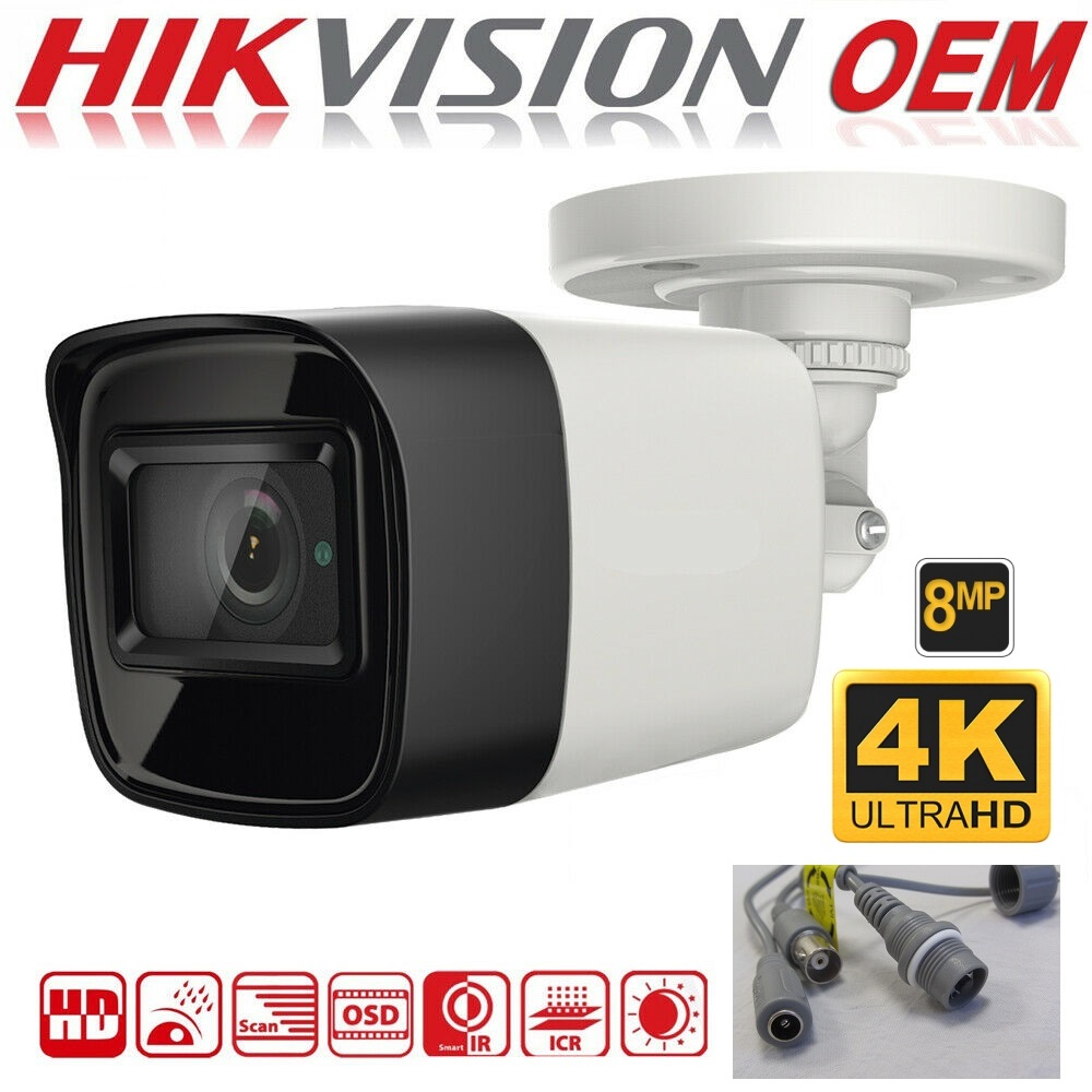 8MP Hikvision OEM Bullet DS-2CE16U1T-ITF, Turbo HD 2.8mm IR 30m