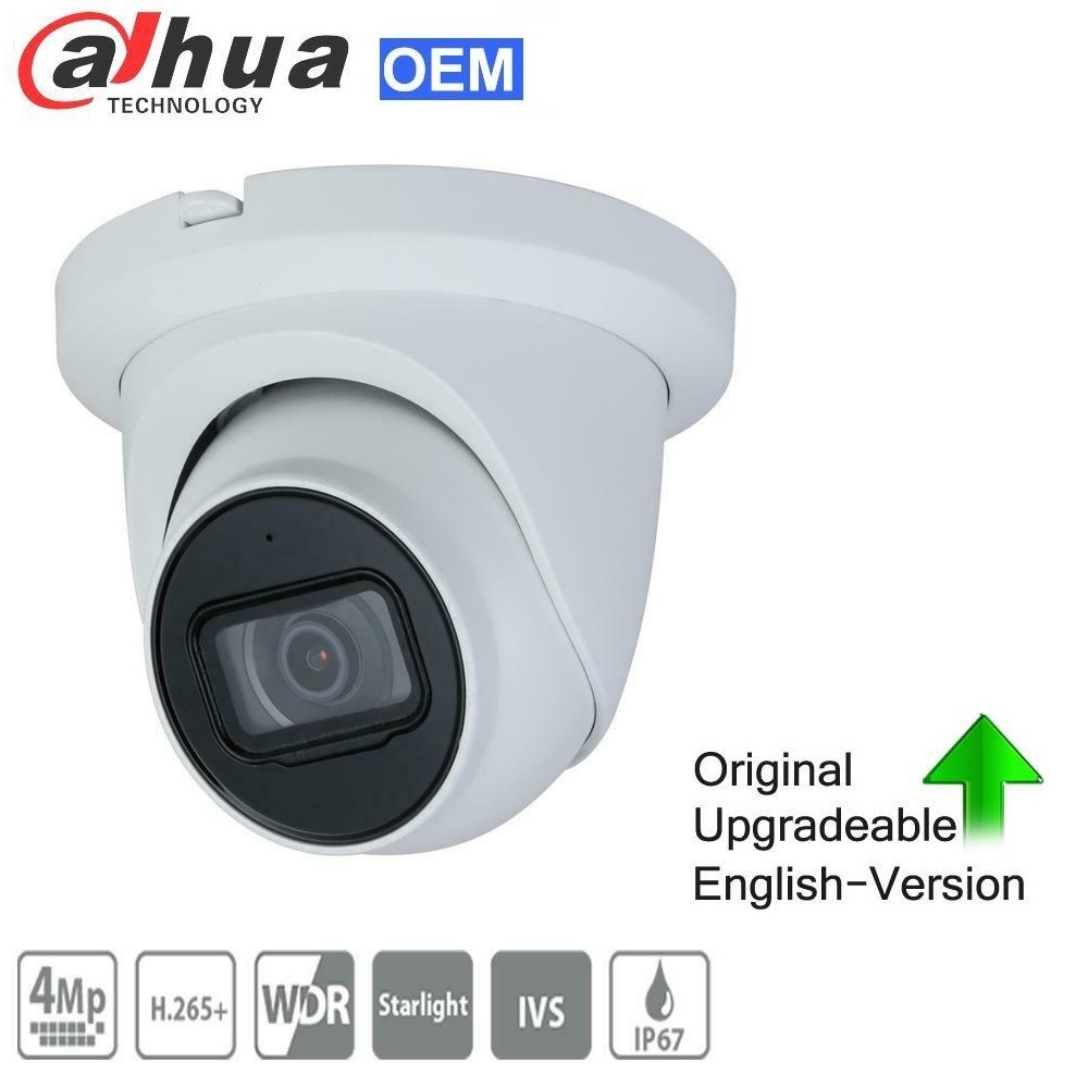 DAHUA POE 4MP WDR Starlight Fixed Turret Network Camera