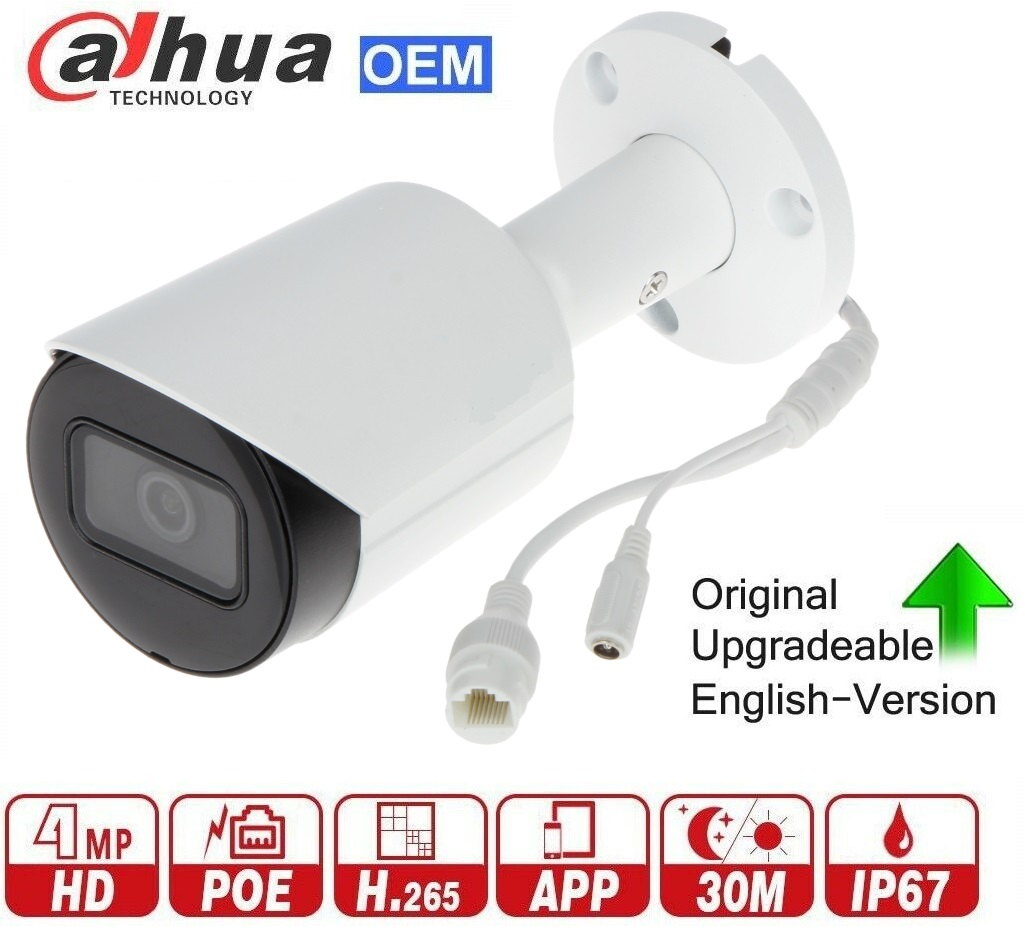 4MP 120dB WDR IR Bullet Network Camera SD Card slot