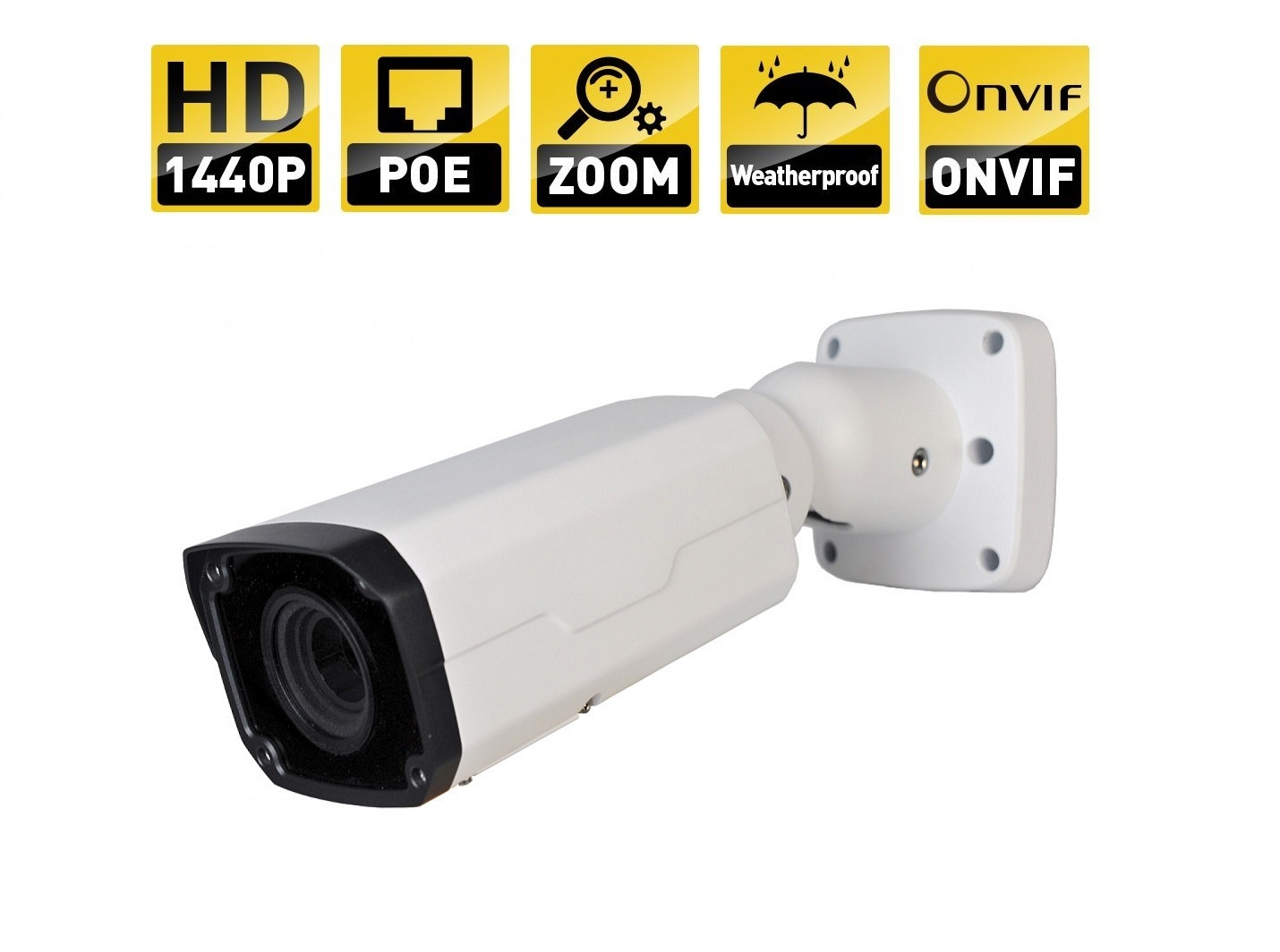 IPC2324EBR-DPZ28 4MP Motorized VF Network IR Bullet Camera