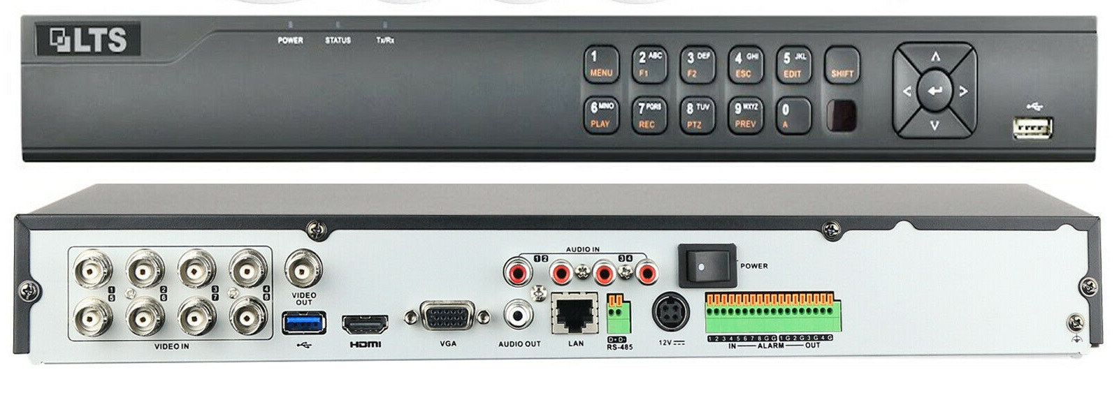 LTS LTD8508K-ST 8-Channel H.265+ HD-TVI Digital Video Recorder