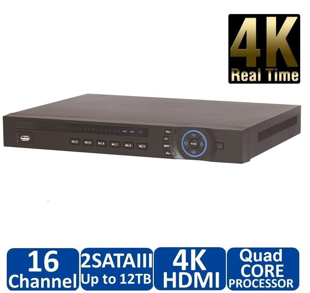 DAHUA 4K 16 Channel Network Video Recorder NVR4216-4KS2