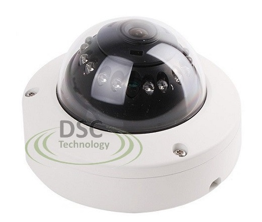 VandalProof HD 2.8mm Lens 1080P 2.4MP 12IR IN/Outdoor Dome