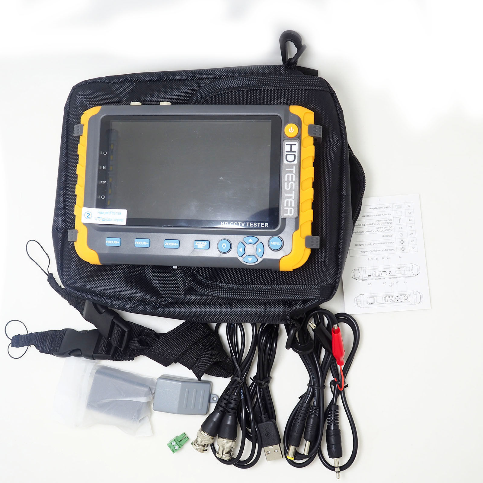 5inch HD Test Monitor built-in Battery for CCTV Camera (IV8W)