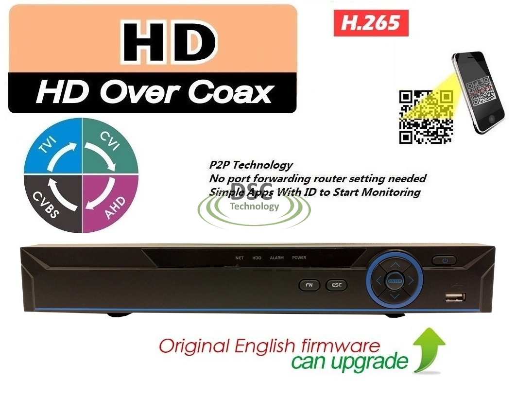 H265+ XVR Solution Recorder